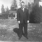 Dean of Students Kenneth Williams by George Fox University Archives