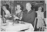 People at the Commencement Dinner in 1961 by George Fox University Archives