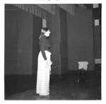 Woman Dances Around On Stage