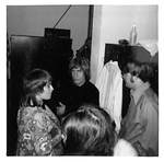 People Gather Backstage Before Performance