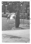 Playing in the Library Pond by George Fox University Archives