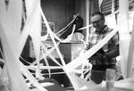 Bob Barnett got office TP'd by George Fox University Archives