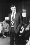 Maurice Chandler at 1979 Faculty Staff Christmas