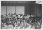 Entertainment at the Dinner in Southern California in 1976 by George Fox University Archives