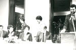 Alumni at Homecoming 84-85 by George Fox University Archives