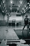 Alumni Basketball at Homecoming by George Fox University Archives