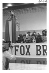 Media on a Basketball Court by George Fox University Archives
