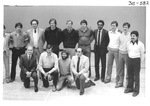 Group Photo at an Alumni Reception by George Fox University Archives