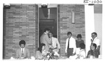 People Greeting Each Other at an Alumni Reception by George Fox University Archives