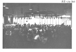 Crowd of People at an Alumni Reception by George Fox University Archives