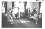 People Gathering at an Alumni Reception by George Fox University Archives