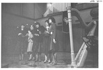 Five Women Performing at the Alumni Talent Show in 1983 by George Fox University Archives