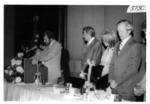 Head Table at the Dinner in Southern California in 1976 by George Fox University Archives