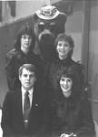 Students with the Bruin Bear
