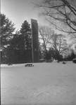 Centennial Tower in the Snow