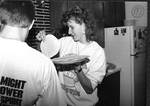 Students Cooking Tortillas by George Fox University Archives