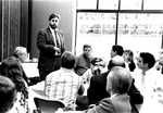 Pastor's Luncheon, Gregg Lamm, Capus Pastor, at Pastors Luncheon by George Fox University Archives