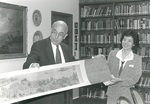 Ed Stevens and Dr. Grace Lee by George Fox University Archives