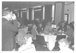 Alumni at the Homecoming Alumni Luncheon Class of 1964 by George Fox University Archives