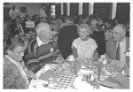 People at the Homecoming Alumni Luncheon for the Class of 1944 in February of 1994 by George Fox University Archives