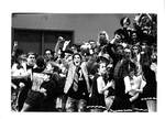 Bruin Fans at a Game by George Fox University Archives