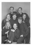 Members of the 1995-1996 George Fox College Players by George Fox University Archives
