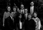 1995-1996 George Fox College Admissions Staff by George Fox University Archives