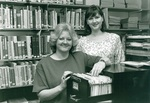 Bonnie Jerke and Leslie Dotson by George Fox University Archives