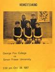 Program, George Fox College vs. Simon Fraser University, 1967 part 1