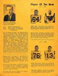 Program, George Fox College vs. Simon Fraser University, 1967 part 5 by George Fox University Archives