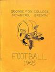 George Fox College, 1965 Fact Book, part 1