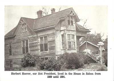 Salem home of Herbert Hoover