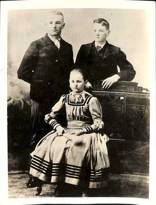 The Hoover Siblings, circa 1890