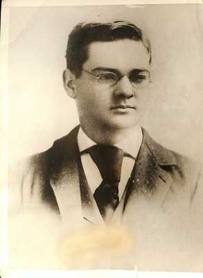 Herbert Hoover as a Sophomore at Stanford University