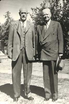 Levi Pennington and Herbert Hoover