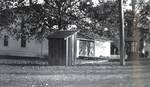 Backyard of the Hoover-Minthorn House by George Fox University Archives
