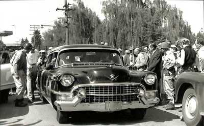 Hoover's Vehicle at the Hoover-Minthorn House Dedication