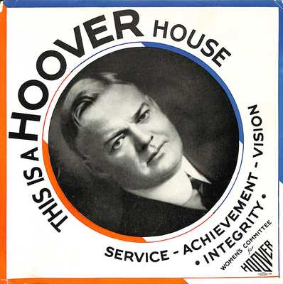 Hoover House Campaign Poster