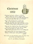 Christmas 1939; 1952; 1972 by Levi T. Pennington