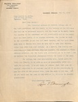 Pennington to Lucile David on 19 May 1915