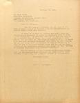 Pennington to Jack Carle 23 February 1946