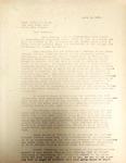 Pennington to Robert Dann April 1946