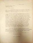 Pennington to Harry Dillin April 1946