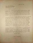 Pennington to Walter Norblad April 1946
