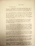 Pennington to Aunt Dora May 1946 by Levi T. Pennington