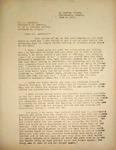 Levi Pennington Responding to Dr. Larsell, June 4, 1946