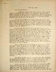 Levi Pennignton Writing to His Cousin Grace, June 19, 1946