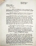 Levi Pennington Writing to Robert Dann, June 20, 1946