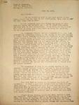 Levi Pennington Writing to Lloyd Cressman, June 25, 1946