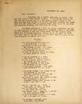 Levi Pennington Writing to His Sisters Lorena & Hannah, September 16, 1946